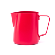 Rhinowares Barista Milk Pitcher - Red 360 ml