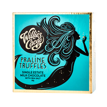 Willie's Cacao - Praline Truffles Milk Chocolate with Sea Salt 35g
