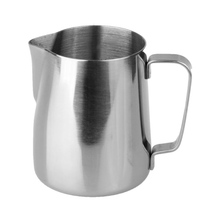 Rhinowares Barista Milk Pitcher Classic - Silver 360 ml (outlet)