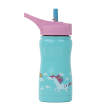 EcoVessel - Insulated Water Bottle Frost - Unicorns 400 ml