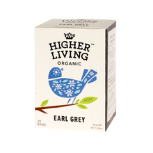 Higher Living Earl Grey - tea - 20 teabags
