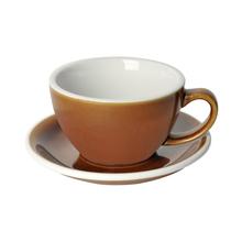 Loveramics Egg - Cafe Latte 300 ml Cup and Saucer - Caramel