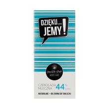 Manufaktura Czekolady - Chocolate 44% DZIĘKU...JEMY! - Blue Pack