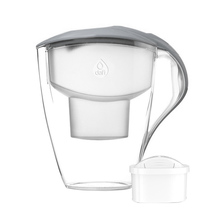 Dafi - Astra 3l Water Pitcher + 1 Unimax Filter - Gray