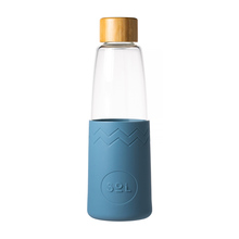 Sol - Blue Stone Bottle + Cleaning Brush + Bag