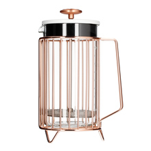 Barista & Co - 8 Cup Corral Coffee Press Copper - French Press