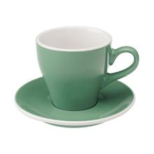 Loveramics Tulip - Cup and sauecr - Cappuccino 180 ml - Mint