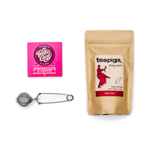 Set: Tea Brewer + Teapigs Tea + Chocolate