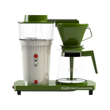 Moccamaster 68 Jubilee Edition Green / Off-White - Filter coffee machine