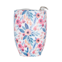 Asobu - Imperial Coffee Cup Floral - Insulated Mug 300ml