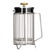 Barista & Co - 8 Cup Corral Coffee Press Steel - French Press