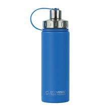 EcoVessel - Insulated Water Bottle Boulder - Hudson Blue 600 ml (outlet)
