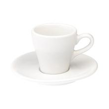 Loveramics Tulip - Cup and sauces - Espresso 80 ml - White