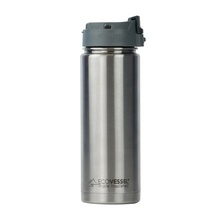 EcoVessel - Insulated Water Bottle PERK - Silver Express 600 ml