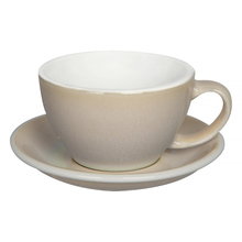 Loveramics Egg - Cafe Latte 300 ml Cup and Saucer  - Ivory