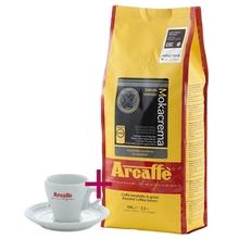 Set: Arcaffe Mokacrema 1kg + Espresso Cup and Saucer