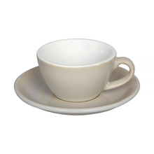 Loveramics Egg - Flat White 150 ml Cup and Saucer  - Ivory