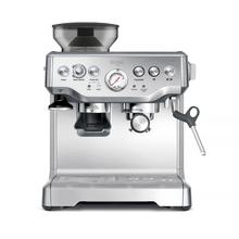 Set Sage The Barista Coffee Machine Silver + Waffle Maker