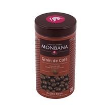 Monbana Coffee Beans in Chocolate - Grain De Cafe
