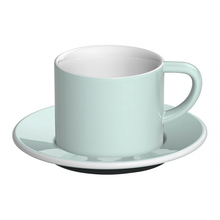 Loveramics Bond - 150 ml Cappuccino cup and saucer - River Blue