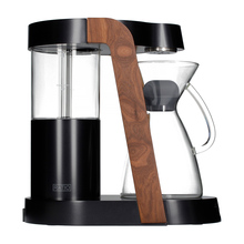 Ratio Eight Coffee Maker - Dark Cobalt / Walnut