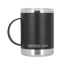 Asobu - Ultimate Coffee Mug Black - Insulated Mug 360ml