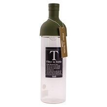 Hario Cold Brew Tea Filter-In Bottle - 750 ml Olive Green