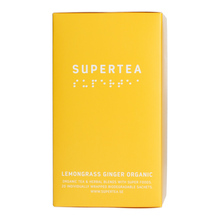 Teministeriet - Supertea Lemongrass Ginger Organic - 20 Tea Bags