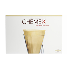Chemex Paper Filters Brown Unfolded - 3 cups