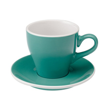 Loveramics Tulip - Cup and saucer - Cafe Latte 280 ml - Teal