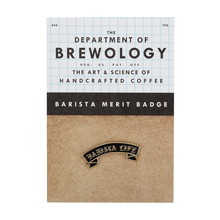 Department of Brewology - Barista Life Pin