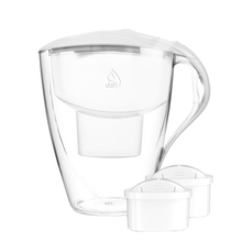 Dafi - Omega 4l Water Pitcher + 2 Unimax Filters - White