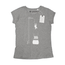 Coffeedesk Chemex Women's Grey T-shirt - M