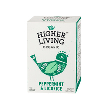 Higher Living Peppermint & Licorice - tea - 15 teabags
