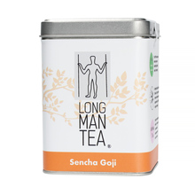 TEA OF THE MONTH: Long Man Tea - Sencha Goji - Loose tea - 120g Caddy