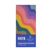 HAYB x Manufaktura Czekolady - Milk chocolate - Cappuccino - 50g