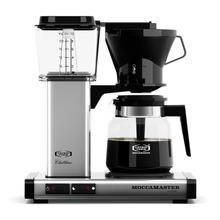 Moccamaster KB 741 AO Polished Silver - Filter Coffee Machine with Adjustable Filterholder