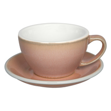 Loveramics Egg - Cafe Latte 300 ml Cup and Saucer  - Rose