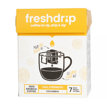 Freshdrip - Yellow Colombia Full-Strength - 7 sachets