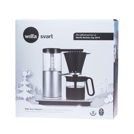 Wilfa Svart Optimal Aluminium WSO-1A - Filter coffee machine