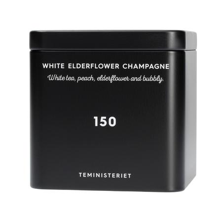 Teministeriet - 150 White Elderflower Champagne - Loose Tea 50g