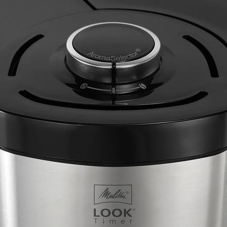 Melitta Look V Timer Black - Filter Coffee Machine