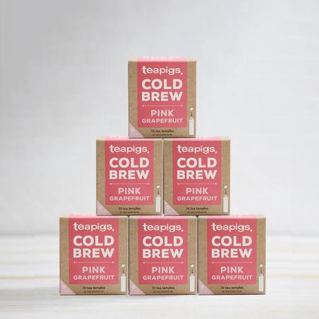teapigs Pink Grapefruit - Cold Brew 10 tea bags