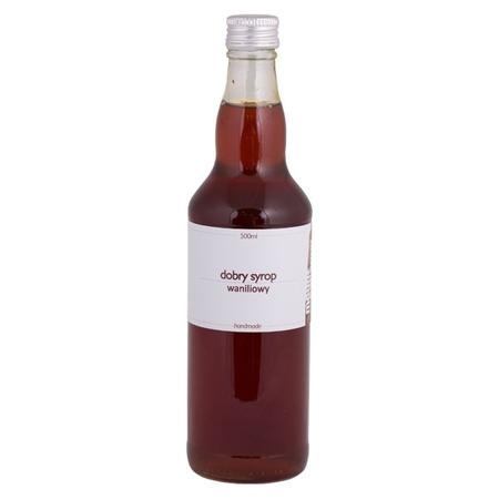 Mount Caramel Dobry Syrop / Good Syrup - Vanilla 500 ml