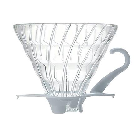 Hario V60 Glass Drip 02 - White
