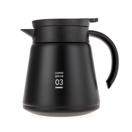Hario Insulated Stainless Steel Server V60-03 Black - 800ml