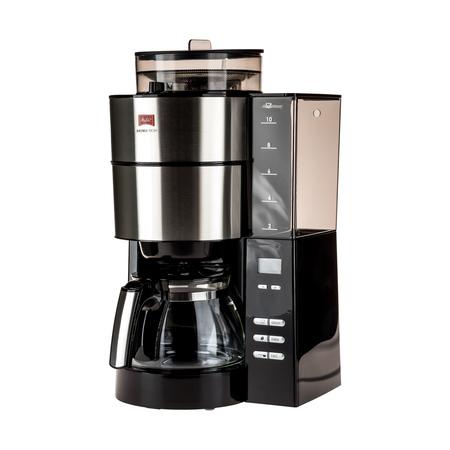 Melitta Aromafresh Black - Filter Coffee Machine with Grinder