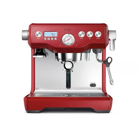 Sage Dual Boiler Red Coffee Machine