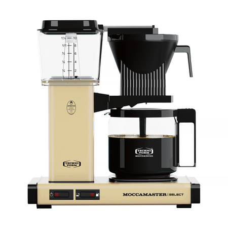 Moccamaster KBG 741 Select - Pastel yellow - Filter Coffee Maker