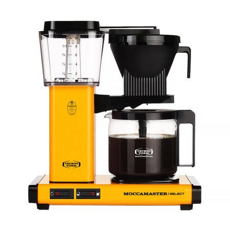 Moccamaster KBG 741 Select - Yellow Pepper - Filter Coffee Maker